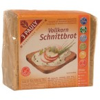 Pilno grūdo raikyta duona, be glitimo (500 g)