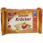 Krekeriai su sezamais, be glitimo (3 pak. x 50 g)