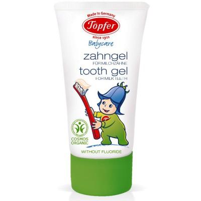 Dantų pasta pieniniams dantims, ekologiška (50 ml)