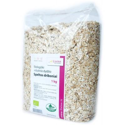 Speltų dribsniai, ekologiški (1 kg)
