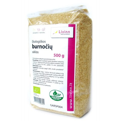 Burnočių sėklos, ekologiškos (500 g)
