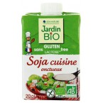 Sojų grietinėlė kulinarijai, ekologiška (200 ml)