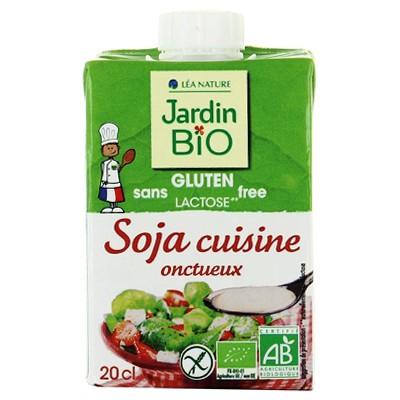 Sojų kremas kulinarijai, ekologiškas (200 ml)