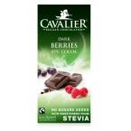 Juodasis šokoladas su uogomis (85 g)