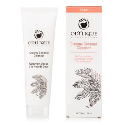 Kreminis kokosų prausiklis, ekologiškas (30 ml)