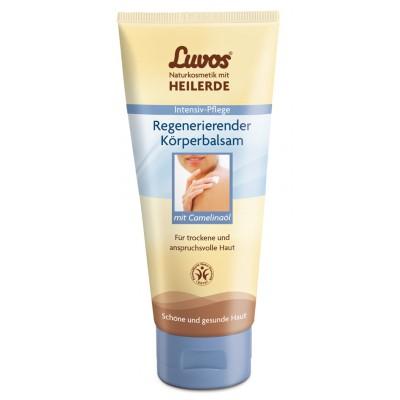 Regeneruojantis Luvos® molio kūno pienelis su judrų aliejumi (150 ml)