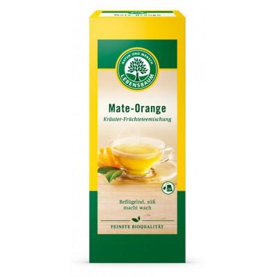 """Arbata """"Matė ir apelsinas"""", ekologiška (20 pak. x 2 g)"""