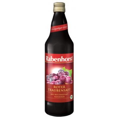 Raudonųjų vynuogių sultys, ekologiškos (750 ml)