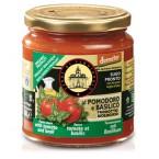 Pomidorų padažas su bazilikais, biodinaminis (300 g)